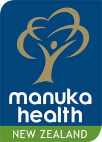 Logo Manuka Health New Zeland