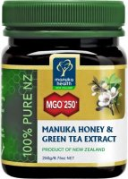 Active Manuka Honey MGO 250+ z zielon± herbat±